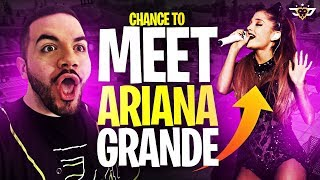 DRINKS AND GAMES WITH STREAMERS! MY CHANCE TO MEET ARIANA GRANDE?! (Fortnite: Battle Royale)