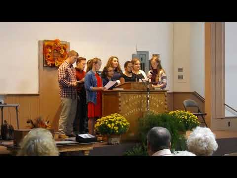 Video: Youth group performs Gospel medley