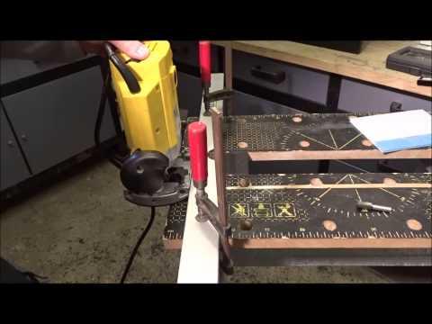 Eine Nut fräsen - Schritt für Schritt Anleitung - DIY