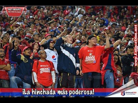 DIM-Bucaramanga ¡La hinchada más poderosa! - Rexixtenxia Norte - Independiente Medellín - Colombia - América del Sur
