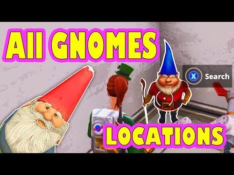 Gnome challenge fortnite