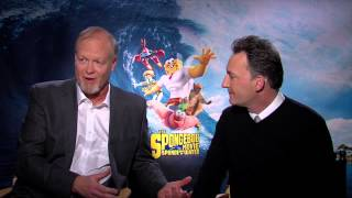 The Voices of Patrick and SpongeBob | Behind The Scenes with Scott Carty