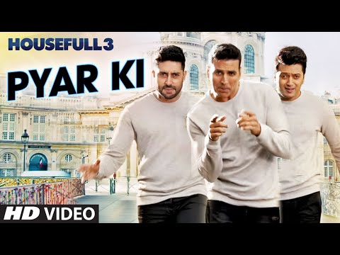 Pyar Ki Video Song | HOUSEFULL 3 | Shaarib & Toshi | T-Series