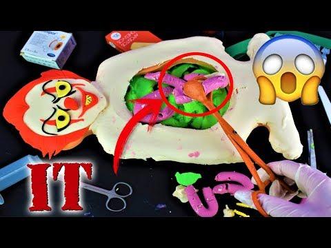 Play doh - Operando Pennywise Payaso IT  Operando a Mr Doh   ¿Qué ha comido PennyWise?