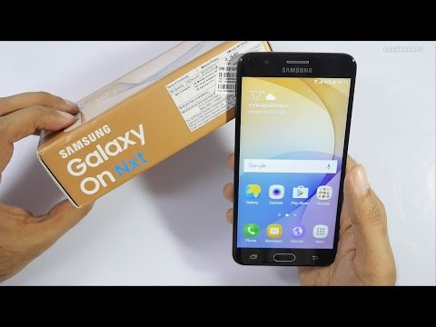 Samsung Galaxy On Nxt Smartphone Unboxing & Overview