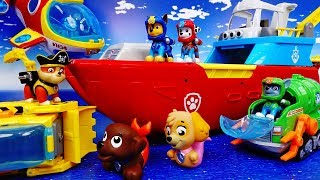 Video Paw Patrol, Let's Go To The Sea~! Sea Patrol Toys Special - ToyMart TV MP3, 3GP, MP4, WEBM, AVI, FLV Juli 2018