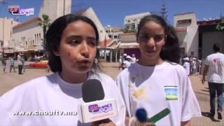 أكبر حملة نظافة في المغرب لجمعية مغاربة و نفتخر في مدينة الدار البيضاء