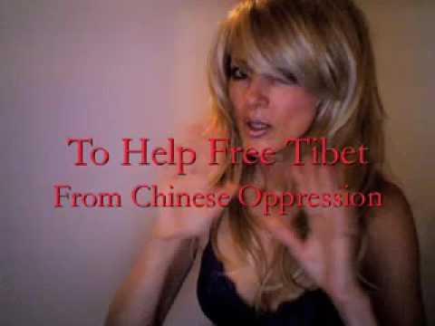 Britney Spears Secret Rehearsal For Banned Commercial To Help Tibet