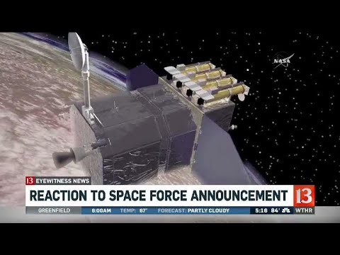 Reaction to Space Force announcement