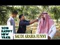 Saudi Arabia Funny comedy Hindi Arbi Urdu wish you happy new year 2018 kuchtohai
