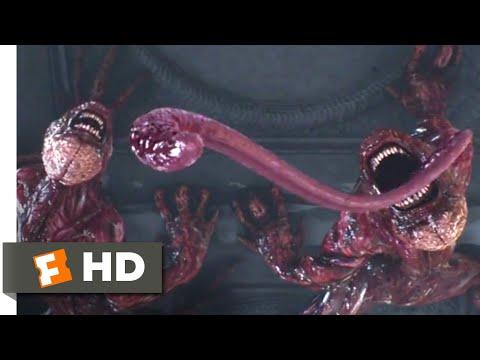 Resident Evil: Damnation (2012) - Leon vs. Lickers Scene (5/10) | Movieclips