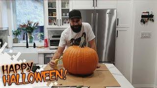 HAPPY HALLOWEEN! - Let's Carve A Pumpkin!