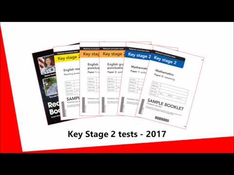 2017 Key Stage 2 tests