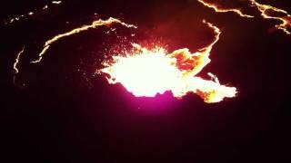 הר געש ארטה עלה באתיופיה The Most Active Volcano Of Ethiopia 11/2011