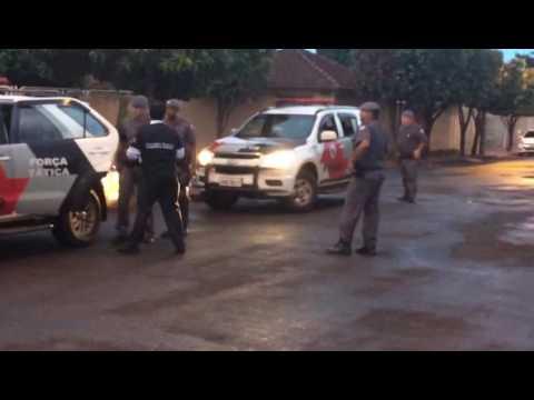 Operação do Gaeco em Miguelópolis