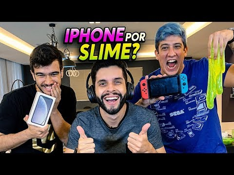 IPHONE OU BANANA?!? DESAFIO ESCOLHA O ITEM SEM SABER O QUE y!!