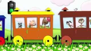 Паровоз-воз-воз, паровозик. Песенка для самых маленьких.