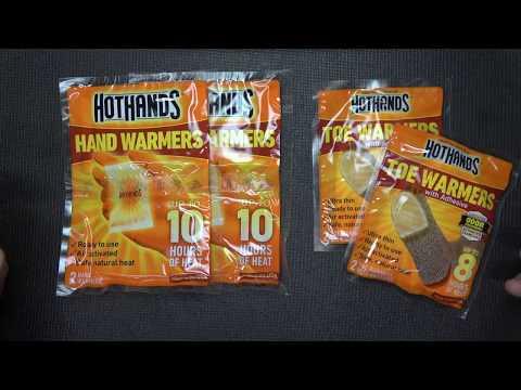 Winter Tip : HotHands Hand & Feet Warmers