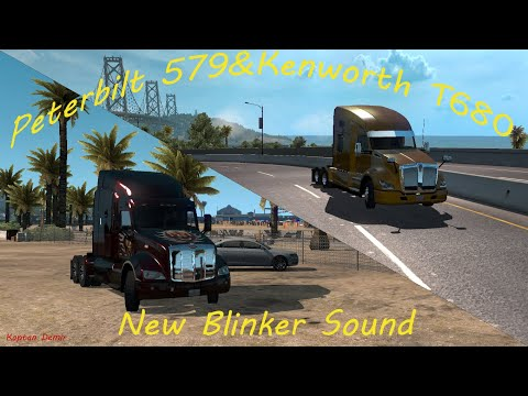 Peterbilt 579 & KW T610 new blinker sound v1.0