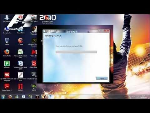 Como instalar o F1 2010(How to install F1 2010)