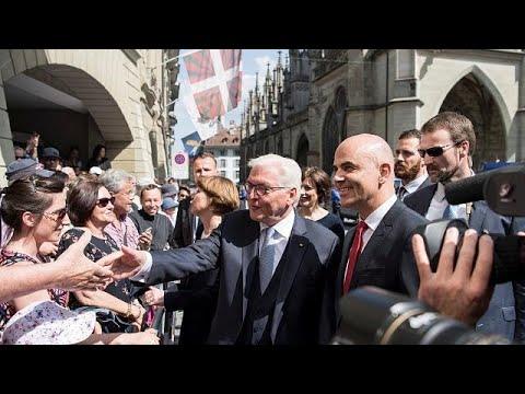 Staatsbesuch bei Freunden: Deutscher Bundespräsident Steinmeier in der Schweiz