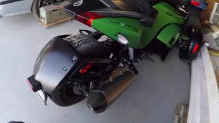 6. Akrapovic Exhaust 2013 Can-Am Spyder RSS