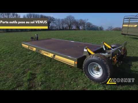 Cosnet agricole - Porte-outils pose au sol VENUS