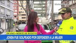 Se llama Óscar Yáñez y, al parecer, no es la primera vez que lo hace. Santiago Tovar, la víctima, recibió 35 días de incapacidad...