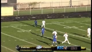 Rochester High School Soccer vs Caston
