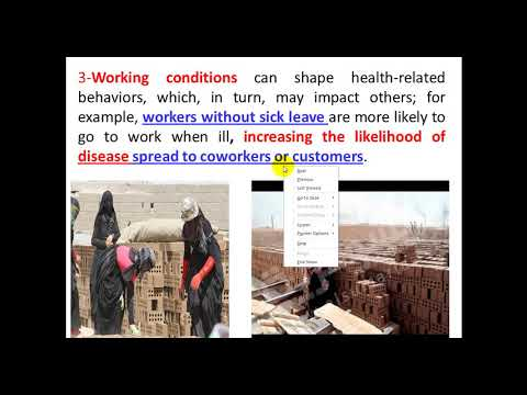 Social Determinants of Health-Part I-By Dr. Dheyaa Jabbar