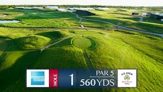 Shane Bacon previews Hole 1 at Erin Hills | 2017 U.S. Open