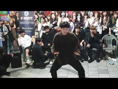 《BTS_#FIRE》 20190914 220616 #KingdomS(킹덤즈) #LastSong 1절#김태유(TaeYou) 방탄소년단#불타오르네 홍대버스킹 #SnowHorse
