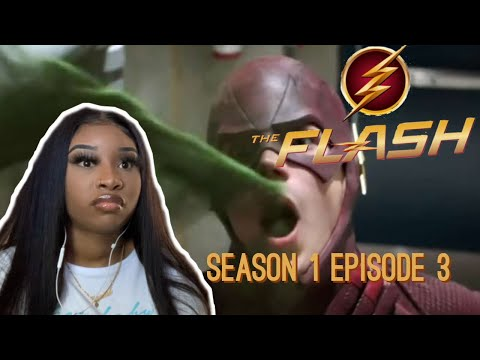 The Flash Season 1 Episode 3 'Thing's You Can't Outrun' Reaction!