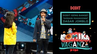 Video Dodit Iseng Ngegodain Mahasiswa - Komika Vaganza (26/11) MP3, 3GP, MP4, WEBM, AVI, FLV September 2018