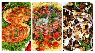 3 Delicious Eggplant Recipes | Dinner Made Easy by The Domestic Geek