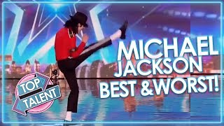 Download Video BEST and WORST of Michael Jackson! X Factor, Got Talent and Idols | Top Talent MP3 3GP MP4