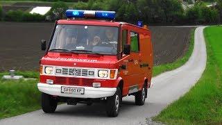 Zu sehen ist das Kleinlöschfahrzeug Allrad der Freiwilligen Feuerwehr Sankt Donat.