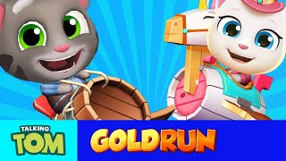 Talking Tom, Talking Angela, Talking Hank and Talking Ginger are set to compete in an incredible air race. They all have their own wacky airplanes and plenty of sneaky tactics. But who will win? Watch to find out! Download now and play: http://outfit7.com/tomgoldrunSubscribe to my YouTube channel: https://www.youtube.com/user/TalkingTomCat?sub_confirmation=1 I'm Talking Tom, and I'm the original talking tomcat. It's great you've stopped by. If there's fun to be had, this cool cat and my friends are probably having all of it! You should definitely check out my shorts, trailers, and gameplay videos featuring me and my friends. Also, keep up to date with my crazy thoughts and ideas via my video blog Talking Tom Brainfarts. You could try looking, but you won't find a funnier guy anywhere else! Stick around!  Don't forget to explore the hilarious world of My Talking Tom. Adopt me as your very own virtual pet, dress me up the latest, greatest, and funniest outfits ever, play some really cool mini games and join in the fun. http://MyTalkingTom.com New videos get uploaded all the time. But while you wait, check out my friends' channels too! Talking Angela and Talking Ginger have some great stuff for you to watch, and you can find even more videos over on the Talking Tom and Friends channel. Stay awesome guys,Tom :) For more fun…▶︎ enjoy our Animated Series on Talking Tom and Friends channel: https://www.youtube.com/TalkingFriends ▶︎ here's the very popular Talking Angela's channel: https://www.youtube.com/TalkingTom ▶︎ don't miss out on Talking Ginger's YouTube channel: https://www.youtube.com/TalkingGinger   Talking Tom is also known as: Sprechender Kater Tom, Tom qui parle,  Tom Falante, Tom el gato parlante, Konuşan Tom, توم المتكلم