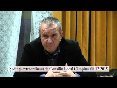 Sedinta extraordinara Consiliul Local Campina din 8 dec. 2015 – partea a IV-a