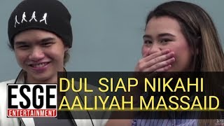 Video DUL SIAP NIKAHI AALIYAH??!!!! MP3, 3GP, MP4, WEBM, AVI, FLV Januari 2019
