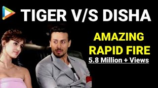 Video BLOCKBUSTER Rapid Fire of Tiger Shroff and Disha Patani MP3, 3GP, MP4, WEBM, AVI, FLV April 2018