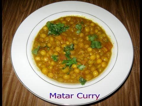 Matar Curry (Ghuguni) Recipe Video – PriyasRasoi.com