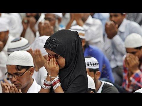 Η γιορτή για το τέλος του Ραμαζανιού στις εμπόλεμες ζώνες