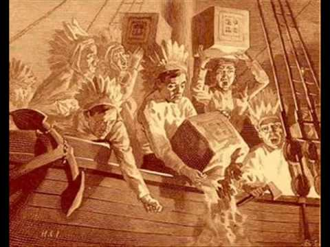 Die Boston Tea Party (1773) - ein Akt des Widerstandes  ...