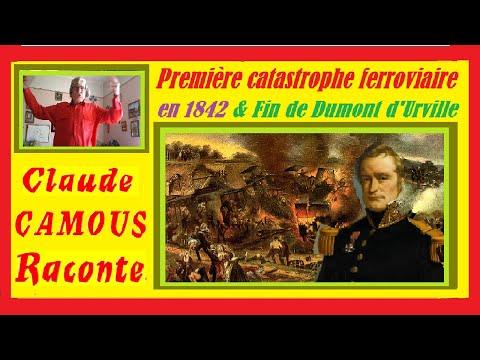 Dumont d'Urville : «Claude Camous Raconte» sa fin dans la première catastrophe ferroviaire en 1842