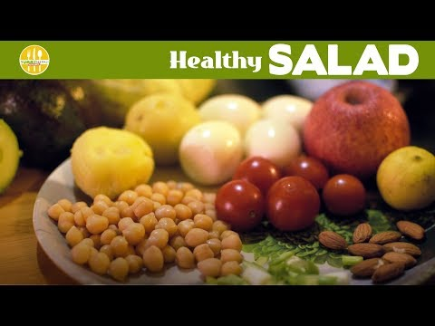(Healthy Salad | MIX Salad | Yummy Nepali Kitchen - Duration: 3 minutes, 34 seconds.)