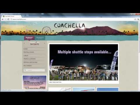 How to Buy Tickets for Coachella