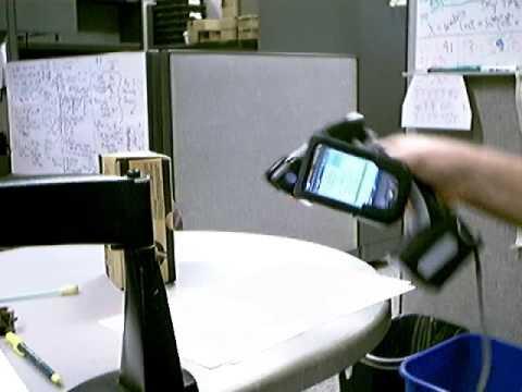 sp400 AiO Hand Held Printer Scanner plus iPaq 111 PDA