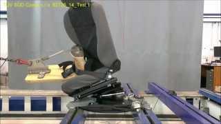Otočné a výsuvné zařízení sedadla - destrukční zkouška 001 1 plagiát