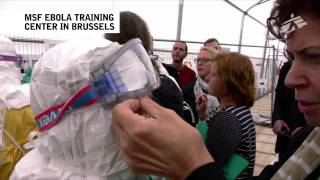 MSF Ebola Training Center In Brussels